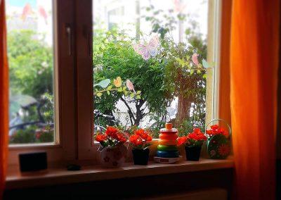 Sabrinas Kükennest - Küchenfenster